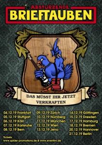 Poster Tauben 2019